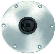 Springfield 1300751-1 Round Hi-lo Pedestal Base 9in Use W/ Plug-in Post 2-3/8in