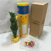 Dept 56 Time To Celebrate Mailable Christmas Tree Recordable Message Rare W Tube