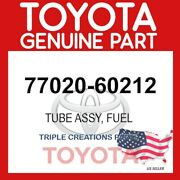 77020-60212 Genuine Oem Toyota Tube Assy Fuel Suction W/pump And Gage 7702060212