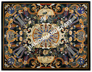 4and039x3and039 Marble Dining Table Top Marquetry Mosaic Inlay Handmade Garden Decor C627