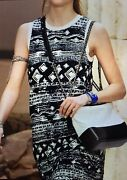 New Cruise Runway 18c P58212k07623 Tunic Dress 36 Made In Italy 100 Auth