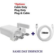 Genuine Huawei 5a Fast Charger Plug And 2m Micro-usb Data Cable For Phone Tab Lot