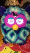 Furby Boom 2012 Hasbro Blue Purple Interactive Toy Works Great Very Good