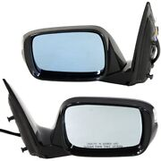 Power Mirror For 2007-08 Acura Mdx Base Model Manual Fold Heated Paintable 2pc