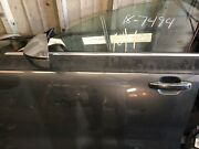 2014-2017 Audi Rs7, S7, A7 Oem Passenger's Front Door W/o Laminated Glass
