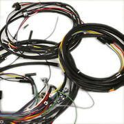 Willys Jeep Wiring Harness 1957-65 Cj6 4 Cylinder Used With Generator