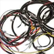 Willys Jeep Wiring Harness 1950-51 Jeepster F Head 4 Cylinder No Turn Signals