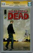 The Walking Dead 75 Sdcc Variant Cgc 9.8 Signature Series Signed Turner And Yeun