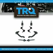 Trq Front Ball Joint Tie Rod End Sway Bar Link Steering Suspension Kit Set 8pc