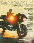 1984 Sears Motorcycle And Atv Parts And Accessories Catalog