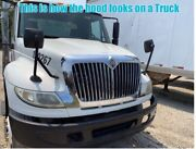 07 International 7.6l Dt466 Used Hood And Grille And Head Lights Lamps