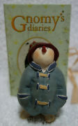 Gnomy's Diaries Legend Of Snowtime Snowman With Coat Hat Figurine Annekabouke