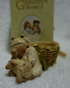 Gnomy's Diaries Legend Guardian Angels Angel Candle Holder Sheep Annekabouke