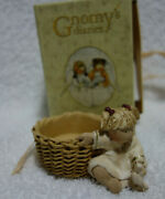 Gnomy's Diaries Legend Guardian Angels Angel Candle Holder Bird Annekabouke