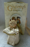 Gnomy's Diaries Legend Guardian Angels Singing With Bird Figurine Annekabouke