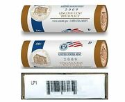 2009 Pandd Mint Lincoln Cent Log Cabin Two Roll Set Lp1