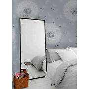 Grey Dandelions Removable Wallpaper Gray And White Wall Mural Peel And Stick