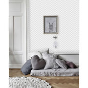 Geometric Vector Removable Wallpaper White And Gray Wall Mural Peel And Stick