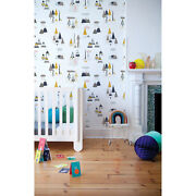 Trees Removable Wallpaper White Wall Mural Reusable Self Adhesive Peel And Stick