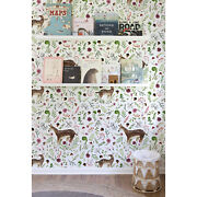 Doe Removable Wallpaper White Wall Mural Reusable Self Adhesive Peel And Stick