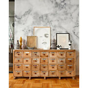 Marble Removable Wallpaper White Wall Mural Reusable Self Adhesive Peel And Stick