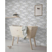 Swans Removable Wallpaper White Wall Mural Reusable Self Adhesive Peel And Stick