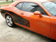 Fits 2008 - Up Challenger Billboard Style Side Decals
