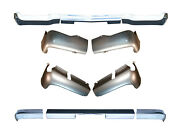 Front And Rear 3 Piece Chrome Bumpers And Valance Pans For 1961 Chevy Passenger Car