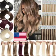 American Blue Tape In 100 Remy Human Hair Extensions With Strong Adhesive Tape