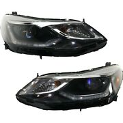Headlight For 2016-2019 Chevrolet Cruze Pair Driver And Passenger Side