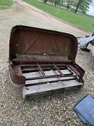 1941 Cadillac Front Seat Restore Or Parts All The Trim And The Rare Emblem