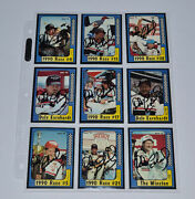Dale Earnhardt Autographed Maxx 1991 9 Set Cards Signed Very Rare