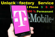 Iphone Factory Unlock Service 100 T-mobile 6 6+ 5 Fast Permanent I-phone Code12