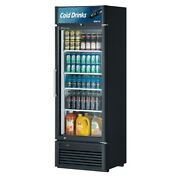 Turbo Air Tgm-20sd-n6 27 One Section Merchandiser Refrigerator With Glass Do...