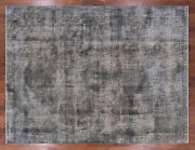 Overdyed Wool Area Rug 9' 6 X 12' 5 - Q2424