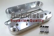 Chevy Ls1 Ls6 Fabricate Anodized Aluminum Valve Cover W/ Coil Mount Ls2 Ls7 Rod