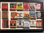 Vintage Matchbook Lot Of 18 Champion Spark Plugs Abbott And Costello Coca Cola
