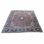 4and0394x6and0395 Antique Farsian Eshfahin Good Condition Hand-knotted Rug R45752
