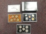 2012 Silver Us Proof Set - W Box And Certificate Of Authenticity