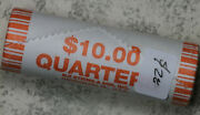 Nice Original Bank Wrapped Roll Of 2003-d Illinois State Quarters