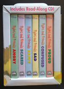 Winnie The Pooh Pigletand039s Feelings 6 Book Boxset First Concepts Travel Case + Cd