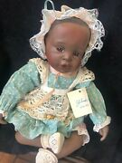 """""""danielle"""" Limited Edition Porcelain Doll By Edwin M. Knowles China Company, New"""