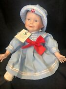 Andldquoamandaandrdquo Limited Edition Porcelain Doll By Edwin M. Knowles China Company New