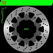 Brake Disc Ng 725 320mm Floating For Ktm 400 Lc4 Exc Racing 4t 1999-2008