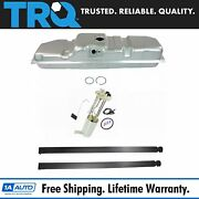 Trq Fuel Tank With Straps And Electric Fuel Pump/sending Unit Kit 25 Gallon 8 Bed