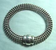 Test Silver Bracelet 28.1 Grams 8 1/2andrdquo Wearable Length X 1/2andrdquo