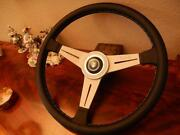 Jaguar Xj12 1990 1992 Steering Wheel Leather To Fit Airbag Model 15.3 New Nos