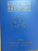 1993 World Mints Passport With Mint Condition Coins By American Numismatic