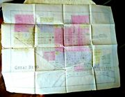 Lovely Colored Antique Parcel Map Great Bend Kansas 1886 Scaled 1886
