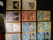 Pokemon Cards - Entire Collection Of.1st Edition Rare Holos And More